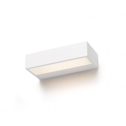 RENDL wall lamp PRIO LED 38 wall white 230V LED 16W 3000K R12089 1