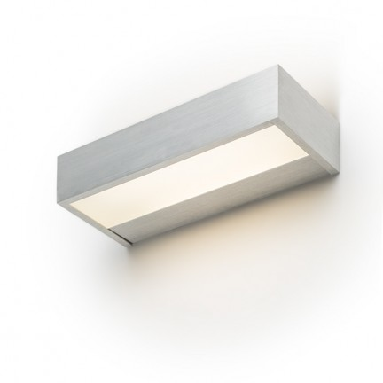 RENDL wall lamp PRIO LED 38 wall brushed aluminum 230V LED 16W 3000K R12090 1