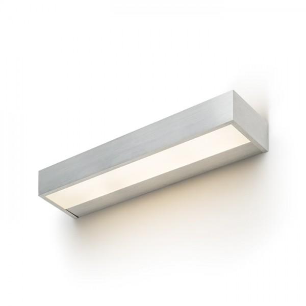 PRIO LED 62 nástenná  česaný hliník 230V LED 33W  3000K