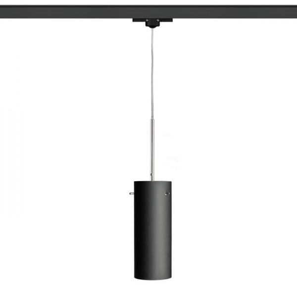 RENDL tiras y sistemas LED SANSSOUCI para carril trifásico mate negro 230V E27 42W R12093 1