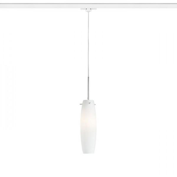 RENDL LED goulotte et systèmes BONGO pour rail triphasé verre opale coloré 230V E14 42W R12097 1