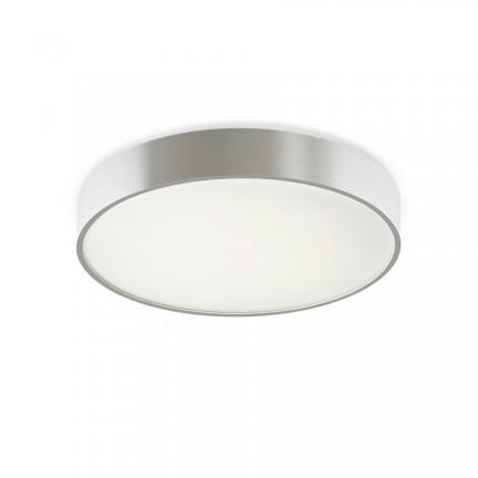 RENDL overflademonteret lampe MENSA R 40 loft børstet aluminium 230V LED 28W 3000K R12115 1