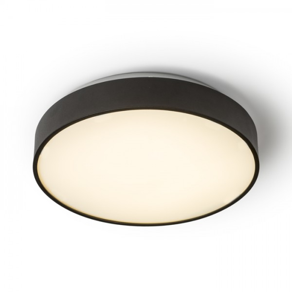 RENDL surface mounted lamp MENSA R 40 ceiling matt black 230V LED 28W 3000K R12116 1