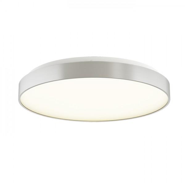 RENDL surface mounted lamp MENSA R 60 ceiling brushed aluminium 230V LED 52W 3000K R12117 1