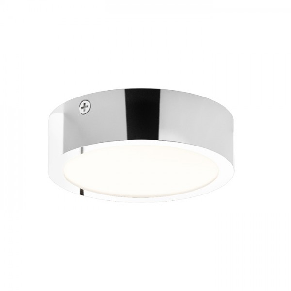 RENDL luminaire encastrable SLENDER SLIM R 9 montage en surface chrome 230V LED 8W 3000K R12131 1