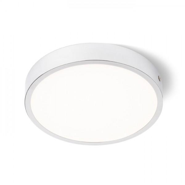 RENDL přisazené svítidlo SLENDER SLIM R 17 přisazená chrom 230V LED 24W 3000K R12135 1