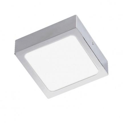 RENDL lámpara de techo SLENDER SLIM SQ 9 montadas en superficie cromo negro 230V LED 8W 3000K R12142 1