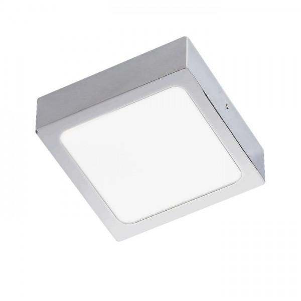 RENDL přisazené svítidlo SLENDER SLIM SQ 9 přisazená černý chrom 230V LED 8W 3000K R12142 1
