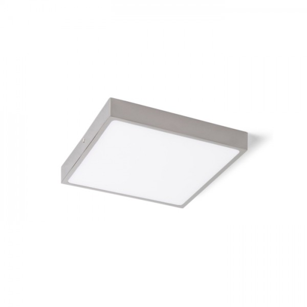 RENDL luminaire en saillie SLENDER SLIM SQ 17 montage en surface chrome noir 230V LED 24W 3000K R12146 1
