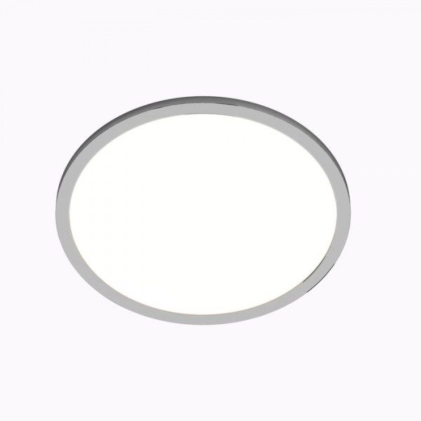RENDL recessed light SLENDER SLIM R 17 recessed black chrome 230V LED 24W 3000K R12158 1