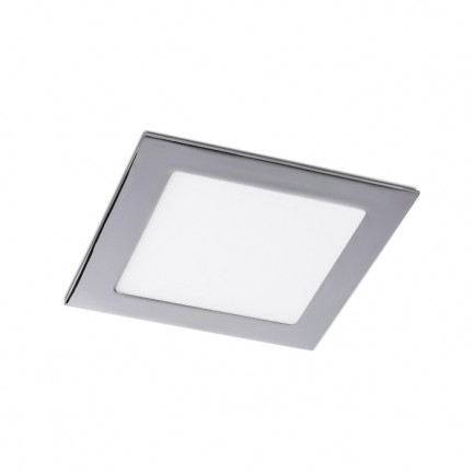 RENDL ugradno svjetlo SLENDER SQ 17 ugradna crni krom 230V LED 12W 3000K R12190 1