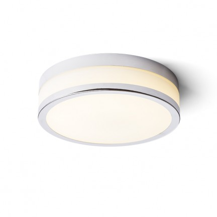 RENDL opbouwlamp CIRA 22 plafondlamp Chroom 230V LED 13W IP44 3000K R12194 1
