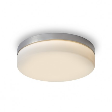 RENDL surface mounted lamp AWE 33 ceiling matt nickel 230V LED 21W IP44 3000K R12197 1