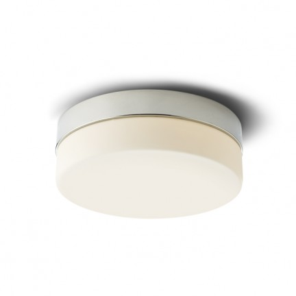 RENDL surface mounted lamp AWE 23 ceiling chrome 230V LED 14W IP44 3000K R12201 1
