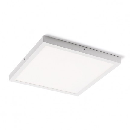 RENDL luminaire encastrable SLENDER SQ 50 montage en surface blanc 230V LED 36W 3000K R12204 1