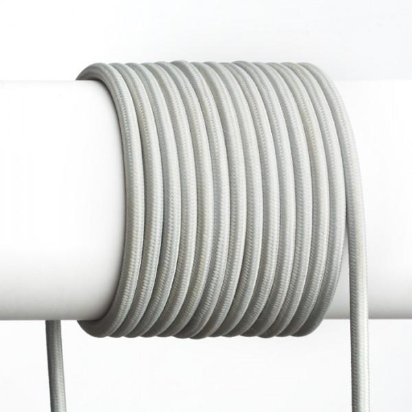 FIT 3x0,75 1bm textilný kábel sivá