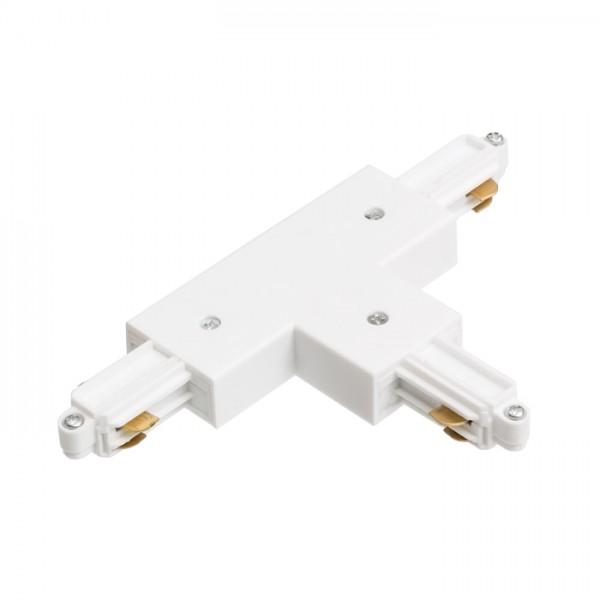 RENDL Track lights, LED strips and system lighting 1F T connector, polarity left white 230V R12272 1