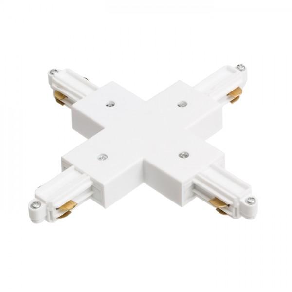 RENDL tiras y sistemas LED 1F X conexión blanco 230V R12278 1