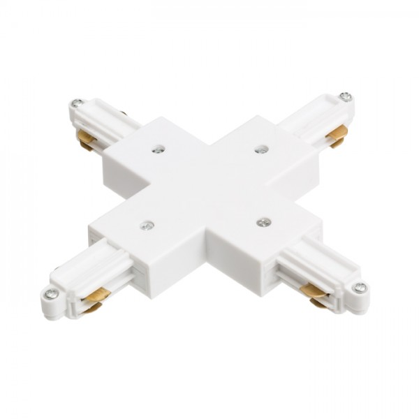 RENDL Track lights, LED strips and system lighting 1F X connector white 230V R12278 1
