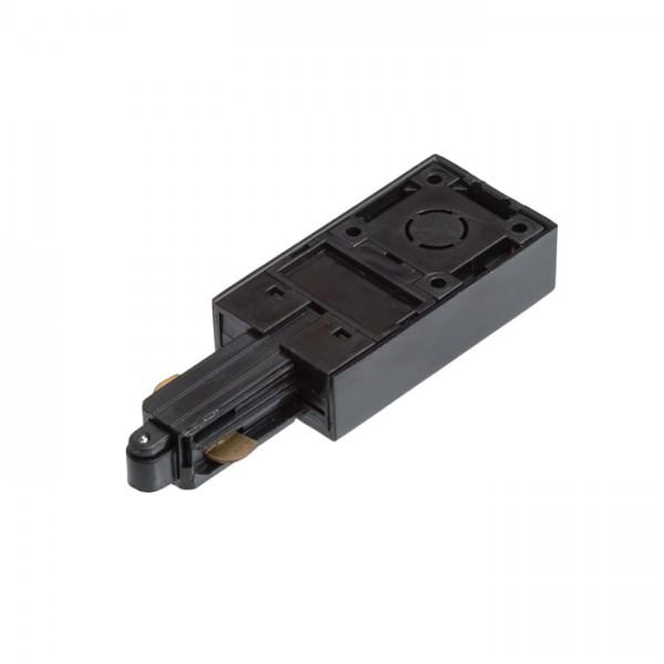 RENDL LED goulotte et systèmes 1F alimentation à polarité gauche noir 230V R12285 1
