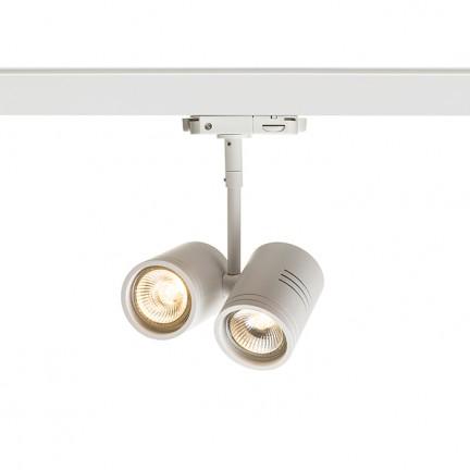 RENDL LED-Leisten und Systeme BEEBA II für 3-Phasen Stromschiene weiß 230V GU10 2x35W R12311 1