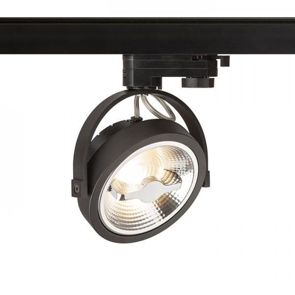 KELLY LED pre trojokruh. lištu čierna  230V LED 12W 24°  3000K