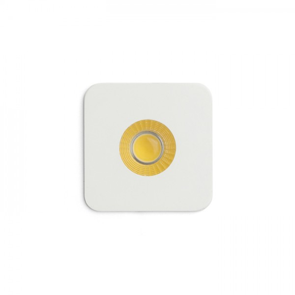 RENDL recessed light RIO SQ recessed white 230V LED 3W 22° 3000K R12350 1