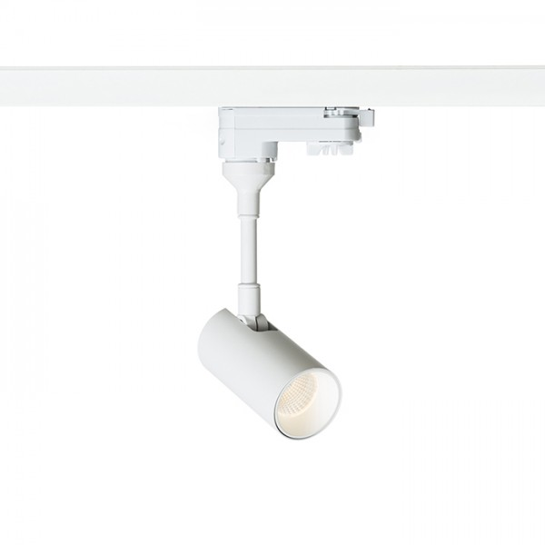 RENDL LED-bånd og systemer LOLLIPOP for 3-faset skinne hvid 230V LED 8W 40° 3000K R12412 1