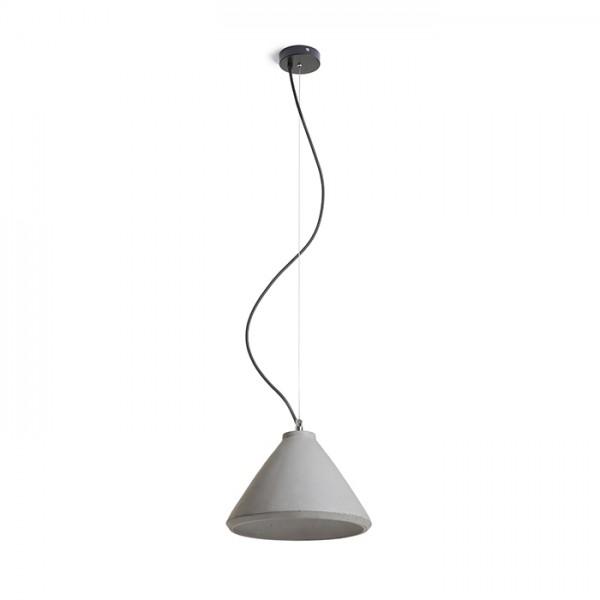 RENDL függő lámpatest RADICAL függeszték beton 230V E27 28W R12416 1