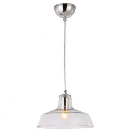 RENDL závěsné svítidlo DORA závěsná čiré sklo/chrom 230V E27 28W R12417 1