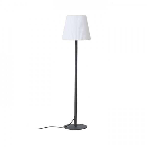 RENDL kültéri lámpa BOSANOVA 120 állólámpa anrtracitszürke szatén PE 230V E27 25W IP65 R12420 1
