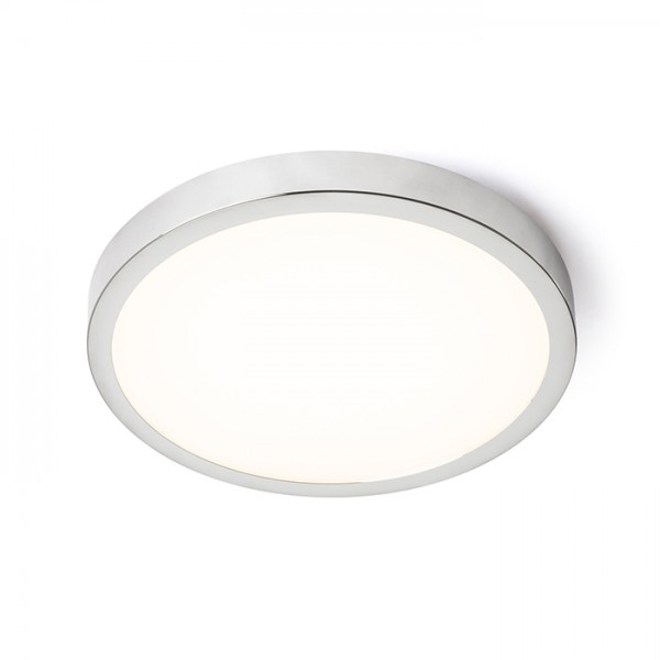 RENDL luminaire encastrable CYLIA 30 plafond chrome 230V LED 18W IP44 3000K R12425 1