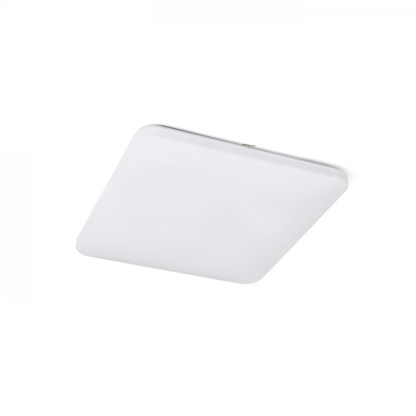 RENDL surface mounted lamp SEMPRE SQ 53 ceiling frosted acrylic 230V LED 56W 3000K R12438 1