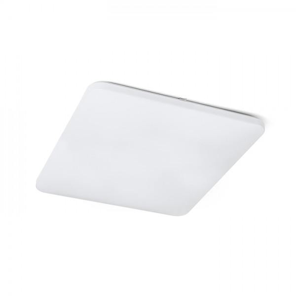 RENDL surface mounted lamp SEMPRE SQ 63 ceiling frosted acrylic 230V LED 76W 3000K R12439 1
