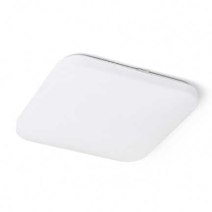 RENDL surface mounted lamp SEMPRE SQ 33 sensor ceiling frosted acrylic 230V LED 24W 3000K R12440 1