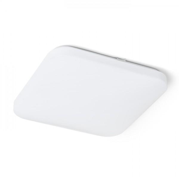 RENDL montažno svjetlo SEMPRE SQ 33 senzor stropni mliječni akril 230V LED 24W 3000K R12440 1