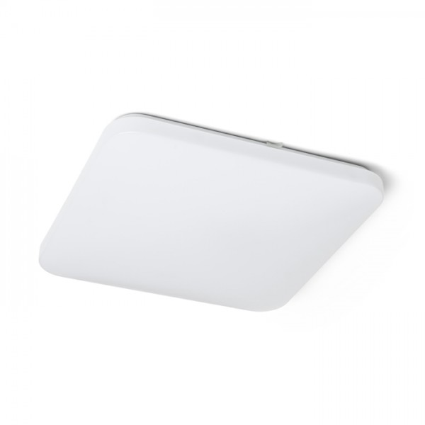 RENDL surface mounted lamp SEMPRE SQ 43 sensor ceiling frosted acrylic 230V LED 36W 3000K R12441 1