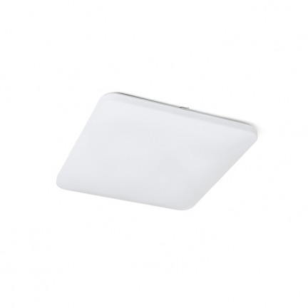 RENDL surface mounted lamp SEMPRE SQ 53 sensor ceiling frosted acrylic 230V LED 56W 3000K R12442 1