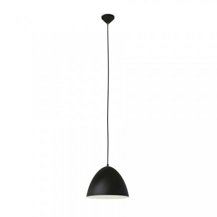 RENDL hanglamp MERYLYN 34 hanglamp zwart/wit 230V E27 28W R12445 1