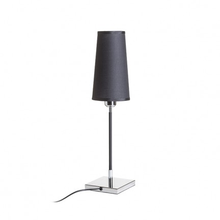 RENDL table lamp LULU table black chrome 230V E27 28W R12465 1