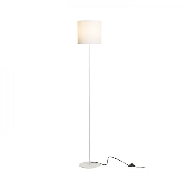 RENDL stojanová lampa ETESIAN stojanová bílá 230V E27 28W R12468 1