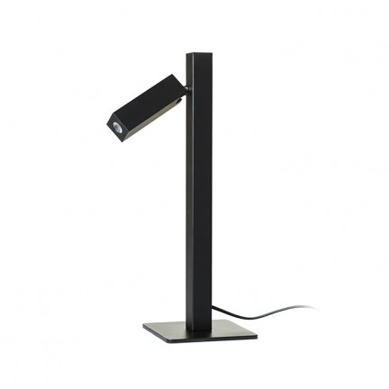 RENDL table lamp FADO table black 230V LED 3W 45° 3000K R12474 1