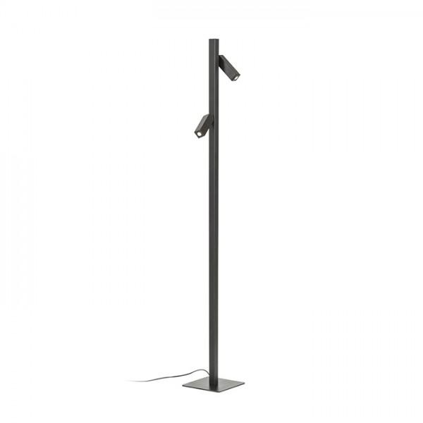 RENDL floor lamp FADO floor black 230V LED 2x3W 45° 3000K R12475 1