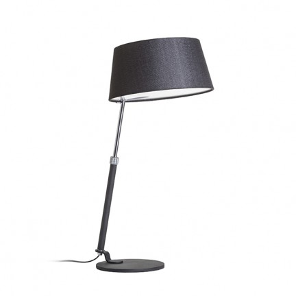 RENDL table lamp RITZY table black chrome 230V E27 42W R12486 1