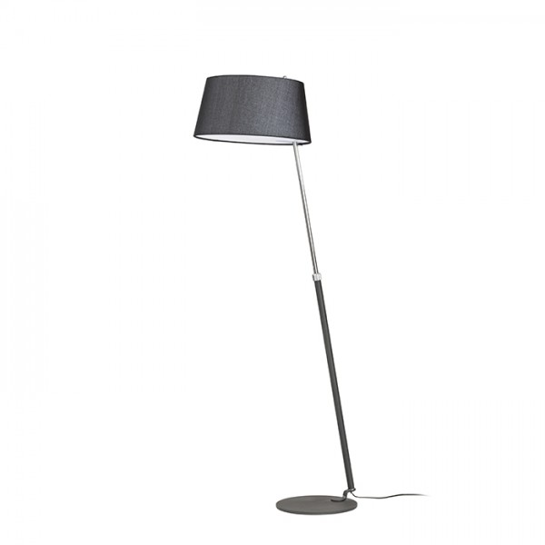 RENDL floor lamp RITZY floor black chrome 230V E27 42W R12487 1