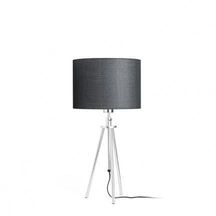 RENDL table lamp GARDETTE table black aluminium 230V E27 42W R12488 1