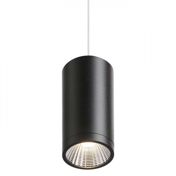 RENDL hanglamp BOGARD hanglamp mat zwart 230V LED 5W 40° 3000K R12493 1