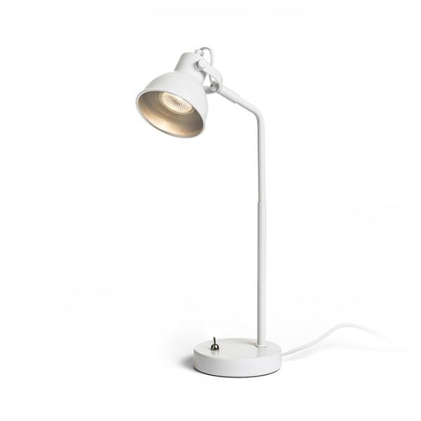 ROSITA stolná biela/striebornosivá  230V LED GU10 9W