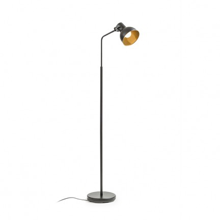 RENDL floor lamp ROSITA floor black/gold 230V E27 12W R12514 1