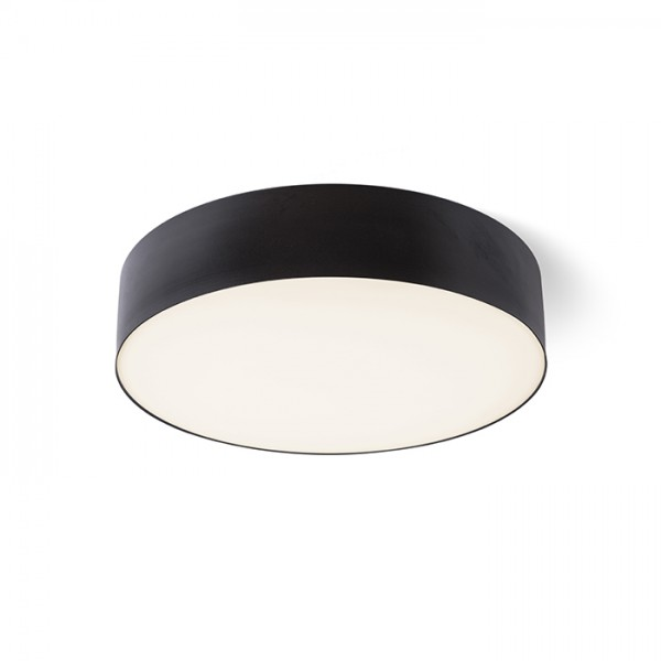 RENDL surface mounted lamp COIMBRA ceiling black 230V LED 24W 3000K R12526 1